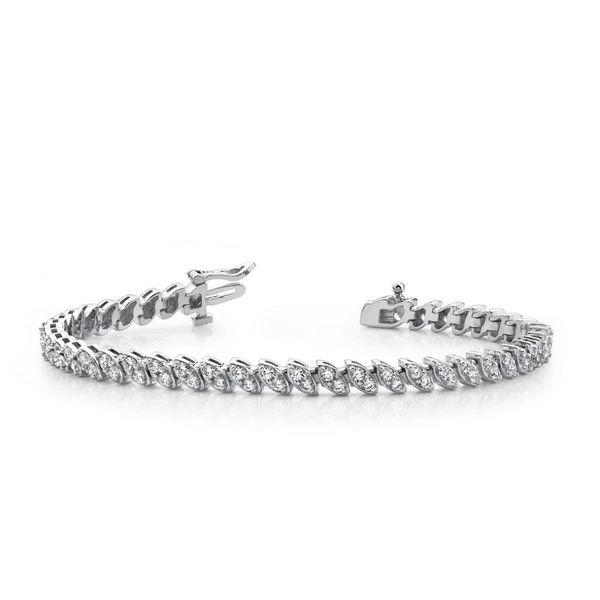 Italic Marquise Shape Bracelet