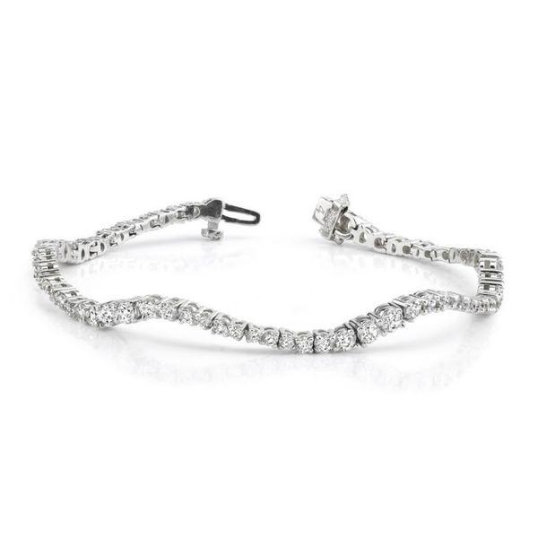 Curve Diamond Bracelet