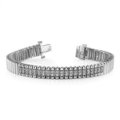 Central Diamond Bracelet