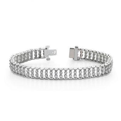 Diamond Bar Link Bracelet